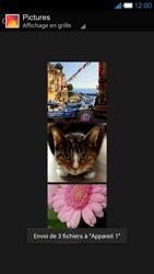 Bouygues Telecom Ultym 4 - Photos, vidéos, musique - Envoyer une photo via Bluetooth - Étape 13