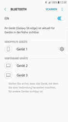 Samsung Galaxy S6 Edge - Android Nougat - Bluetooth - Verbinden von Geräten - Schritt 9