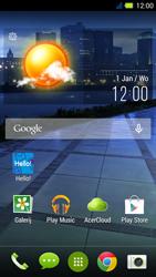 Acer Liquid E3 - Handleiding - Download gebruiksaanwijzing - Stap 1