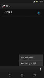 Sony C6603 Xperia Z - Internet - Configuration manuelle - Étape 10