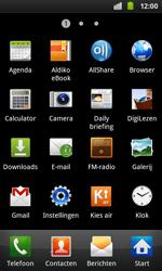 Samsung I9001 Galaxy S Plus - Internet - aan- of uitzetten - Stap 3