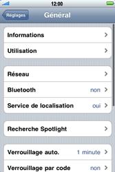 Apple iPhone 3G S - Internet - activer ou désactiver - Étape 4