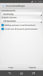 Sony D5803 Xperia Z3 Compact - E-mail - Account instellen (POP3 met SMTP-verificatie) - Stap 16