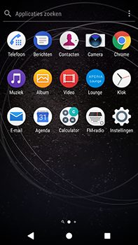 Sony Xperia XA2 Ultra - E-mail - e-mail versturen - Stap 2