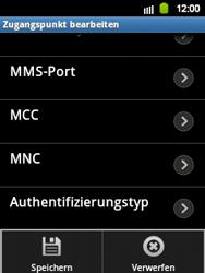 Samsung S5360 Galaxy Y - Internet - Manuelle Konfiguration - Schritt 10