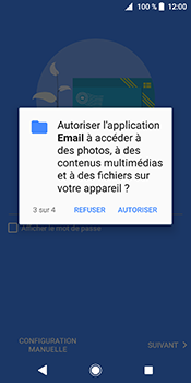 Sony Xperia XZ2 - E-mail - Configuration manuelle (outlook) - Étape 12