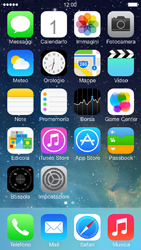 Apple iPhone 5 iOS 7 - Internet e roaming dati - Disattivazione del roaming dati - Fase 1
