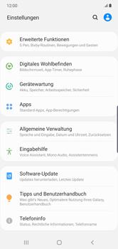 Samsung Galaxy Note 10 Plus 5G - Software - Installieren von Software-Updates - Schritt 4