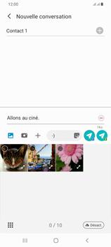 Samsung Galaxy A42 5G - Contact, Appels, SMS/MMS - Envoyer un MMS - Étape 15