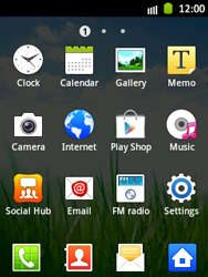 Samsung S5300 Galaxy Pocket - MMS - Manual configuration - Step 3