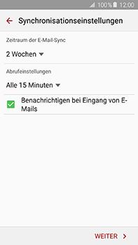 Samsung Galaxy A8 - E-Mail - 032b. Email wizard - Yahoo - Schritt 8