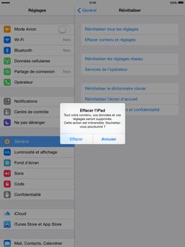Apple iPad mini Retina iOS 8 - Téléphone mobile - Réinitialisation de la configuration d