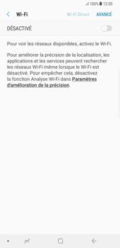 Samsung Galaxy S8 Plus - Android Oreo - Wi-Fi - Accéder au réseau Wi-Fi - Étape 6