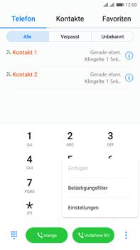 Huawei Mate 9 Pro - Anrufe - Anrufe blockieren - 0 / 0