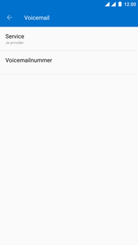 OnePlus 3 - Android Oreo - Voicemail - Handmatig instellen - Stap 10