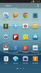 Samsung Galaxy S III - OS 4-1 JB - MMS - Manuelle Konfiguration - 0 / 0