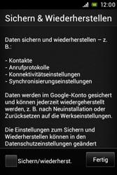 Sony Xperia Miro - Apps - Konto anlegen und einrichten - Schritt 16