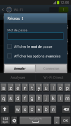 Samsung Galaxy S III LTE - WiFi - Configuration du WiFi - Étape 7