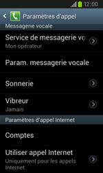 Samsung I9105P Galaxy S II Plus - Messagerie vocale - configuration manuelle - Étape 7