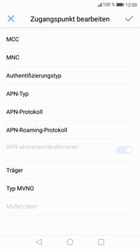Huawei Mate 9 - MMS - Manuelle Konfiguration - 13 / 26