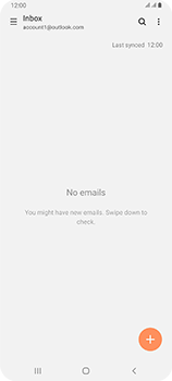 Samsung Galaxy A80 - E-mail - 032c. Email wizard - Outlook - Step 11