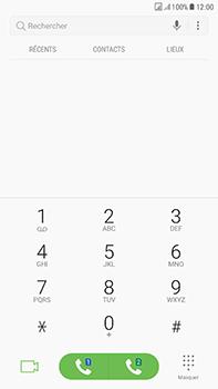 Samsung Galaxy J7 (2017) - Messagerie vocale - Configuration manuelle - Étape 4