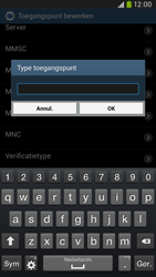 Samsung I9205 Galaxy Mega 6-3 LTE - Internet - Handmatig instellen - Stap 14