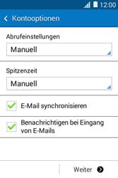 Samsung Galaxy Young 2 - E-Mail - Konto einrichten - 17 / 23