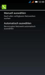 Alcatel One Touch Pop C3 - Netzwerk - Manuelle Netzwerkwahl - Schritt 8