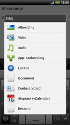 HTC Z715e Sensation XE - OS 4 ICS - E-mail - hoe te versturen - Stap 11