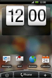 HTC A6262 Hero - MMS - Manual configuration - Step 1