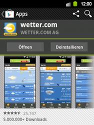 Samsung Galaxy Y - Apps - Herunterladen - 17 / 24
