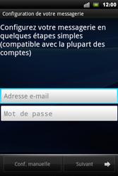 Sony Xperia Mini Pro - E-mail - Configuration manuelle - Étape 5