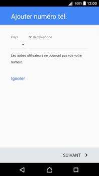 Sony Xperia Z5 Premium (E6853) - Android Nougat - Applications - Créer un compte - Étape 14