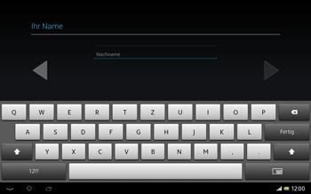Sony Xperia Tablet Z LTE - Apps - Konto anlegen und einrichten - Schritt 6