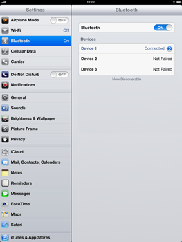 Apple iPad mini - Bluetooth - Connecting devices - Step 9