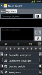 Samsung I9505 Galaxy S IV LTE - MMS - Afbeeldingen verzenden - Stap 9