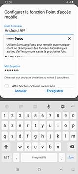 Samsung Galaxy A80 - WiFi - Comment activer un point d'accès WiFi - Étape 9
