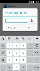 Huawei Y625 - Voicemail - handmatig instellen - Stap 10
