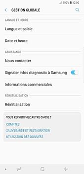 Samsung Galaxy Note9 - Appareil - Réinitialisation de la configuration d