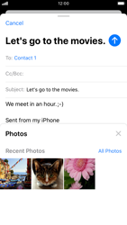 Apple iPhone 7 - iOS 13 - Email - Sending an email message - Step 11