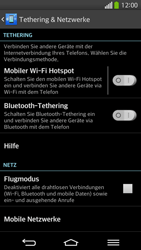 LG G Flex - Netzwerk - Netzwerkeinstellungen ändern - 5 / 8