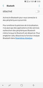 Samsung Galaxy A8 - Internet et connexion - Connexion avec un équipement multimédia via Bluetooth - Étape 7