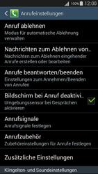 Samsung I9301i Galaxy S III Neo - Anrufe - Rufumleitungen setzen und löschen - Schritt 6