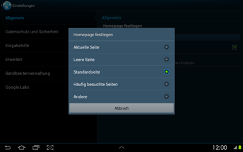Samsung Galaxy Tab 2 10-1 - Internet - Manuelle Konfiguration - 22 / 25
