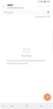 Samsung Galaxy Note9 - E-mail - manual configuration - Step 16