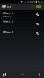 Acer Liquid Z520 - WiFi - configuration du WiFi - Étape 8