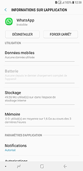 Samsung Galaxy J6 Plus - Applications - Supprimer une application - Étape 6
