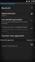 Sony LT26i Xperia S - Bluetooth - Koppelen met ander apparaat - Stap 8