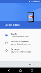 Sony Sony Xperia X (F5121) - E-mail - Manual configuration (gmail) - Step 9